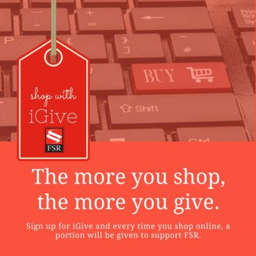 Support FSR When You Shop Online