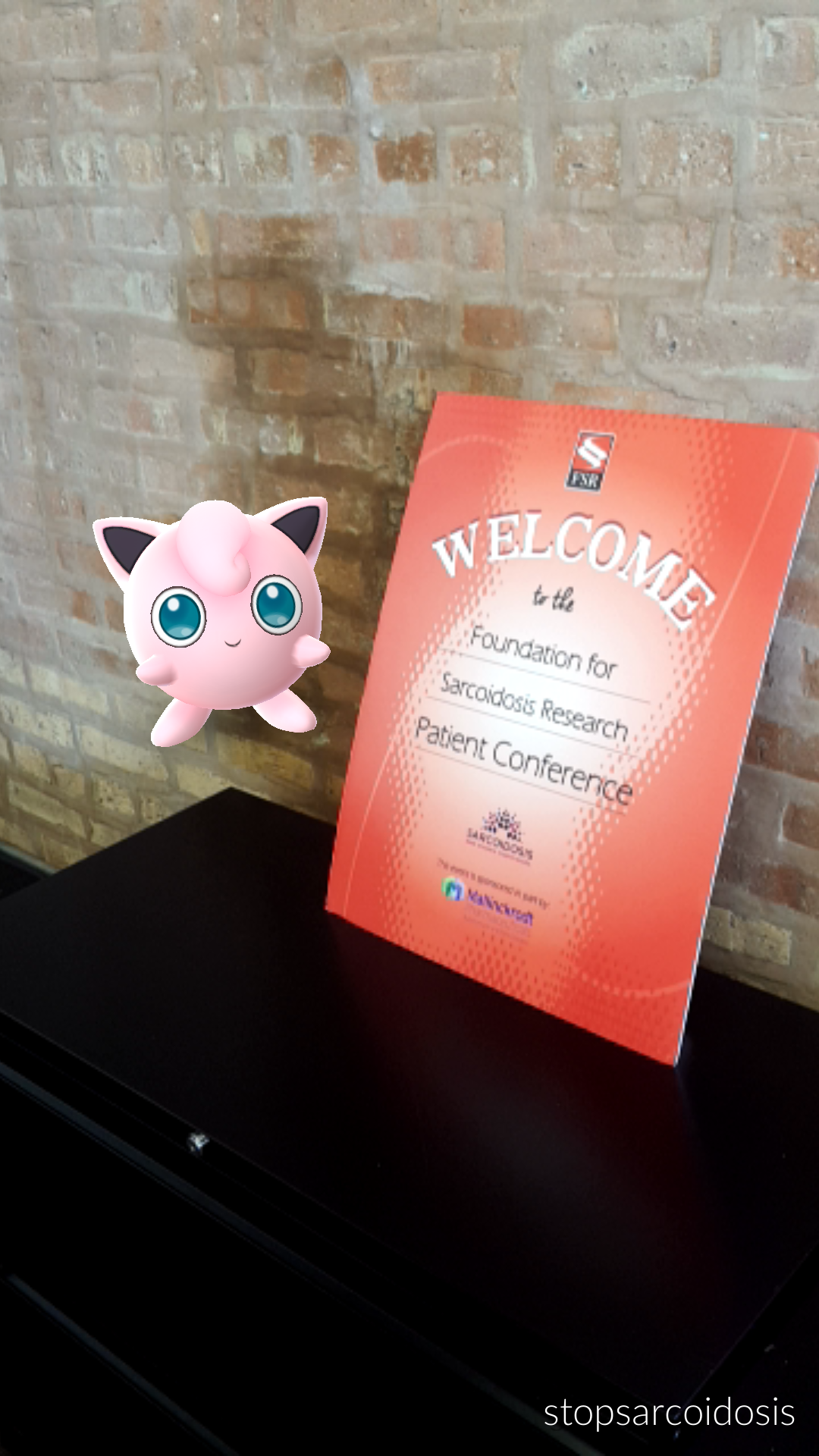 We found a Jigglypuff hanging out in the FSR office!