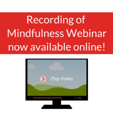 Mindfulness Webinar Video