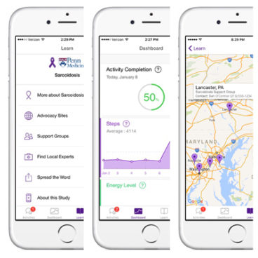 New App for Sarcoidosis Patients