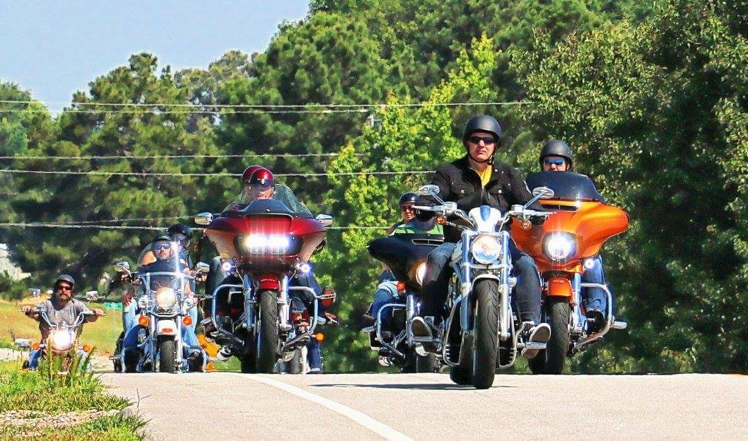 The June JAMR Memorial Ride was a Success!