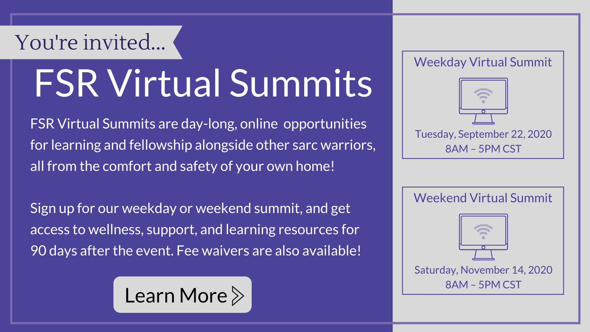 Virtual SUmmit Banner